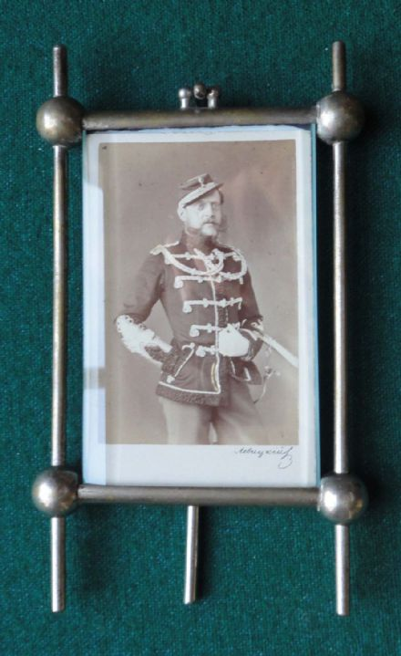 Grand Duke Konstantin Nikolaevich Romanov of Russia Levitsky CDV Patented Frame